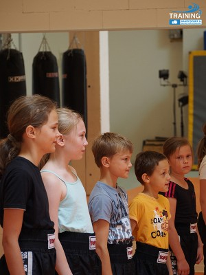 Kindertraining - Gruppentraining - Training³ für Kids und Junior